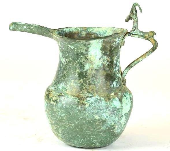 Ancient Luristan Bronze Ewer