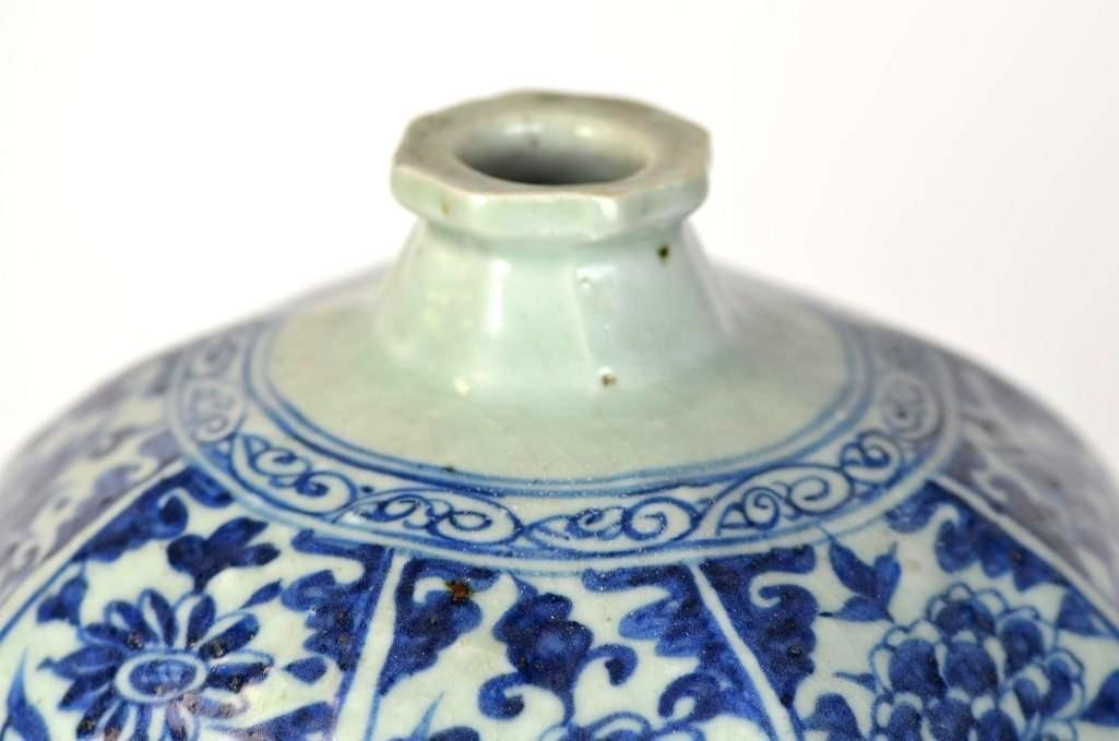 Chinese Blue & White Meiping - 2