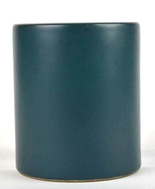 Chinese Teal Green Brush Pot