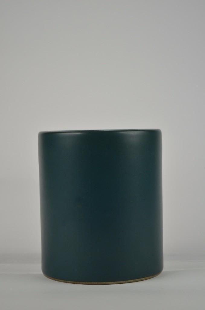 Chinese Teal Green Brush Pot - 2