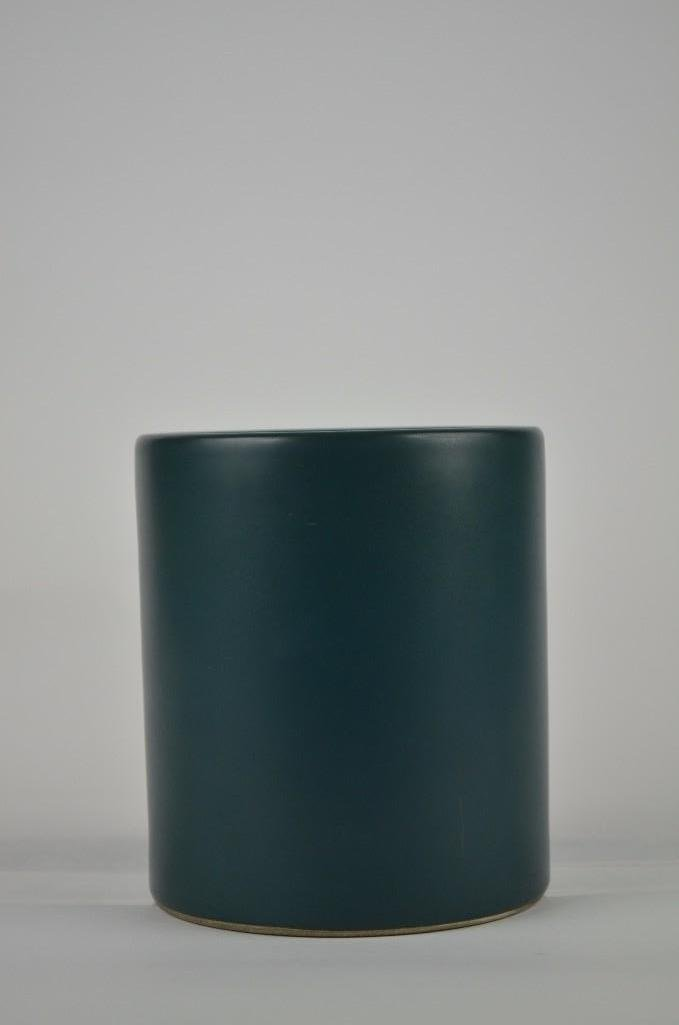 Chinese Teal Green Brush Pot - 3