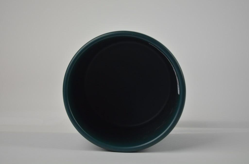 Chinese Teal Green Brush Pot - 4