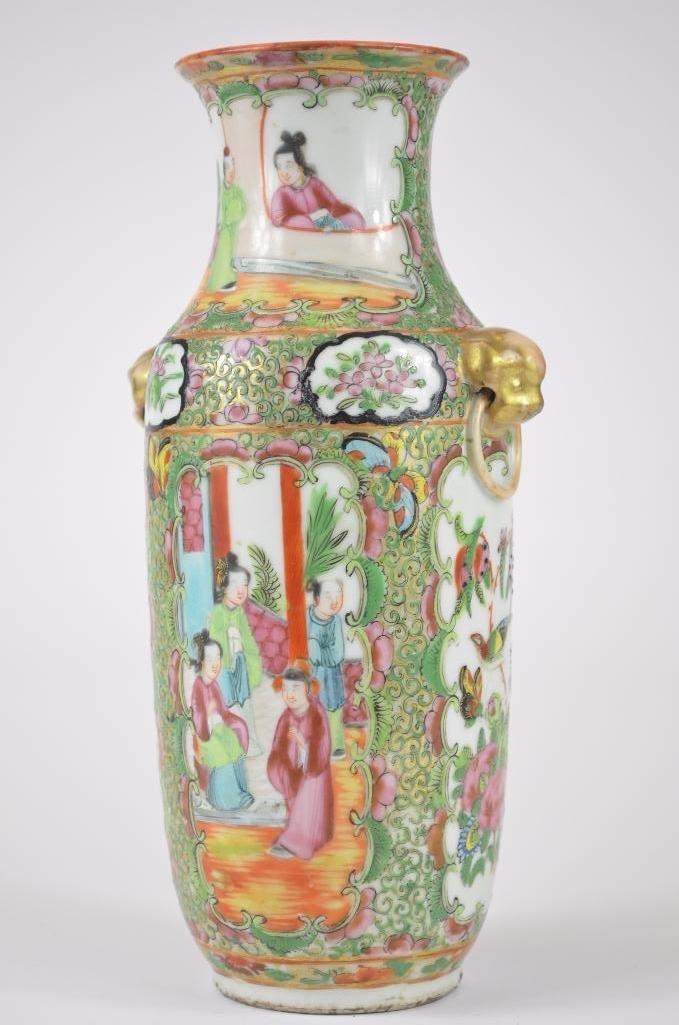 Chinese Famille Rose Porelain Vase - 4