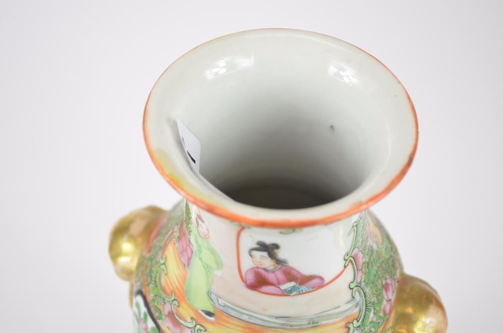 Chinese Famille Rose Porelain Vase - 5