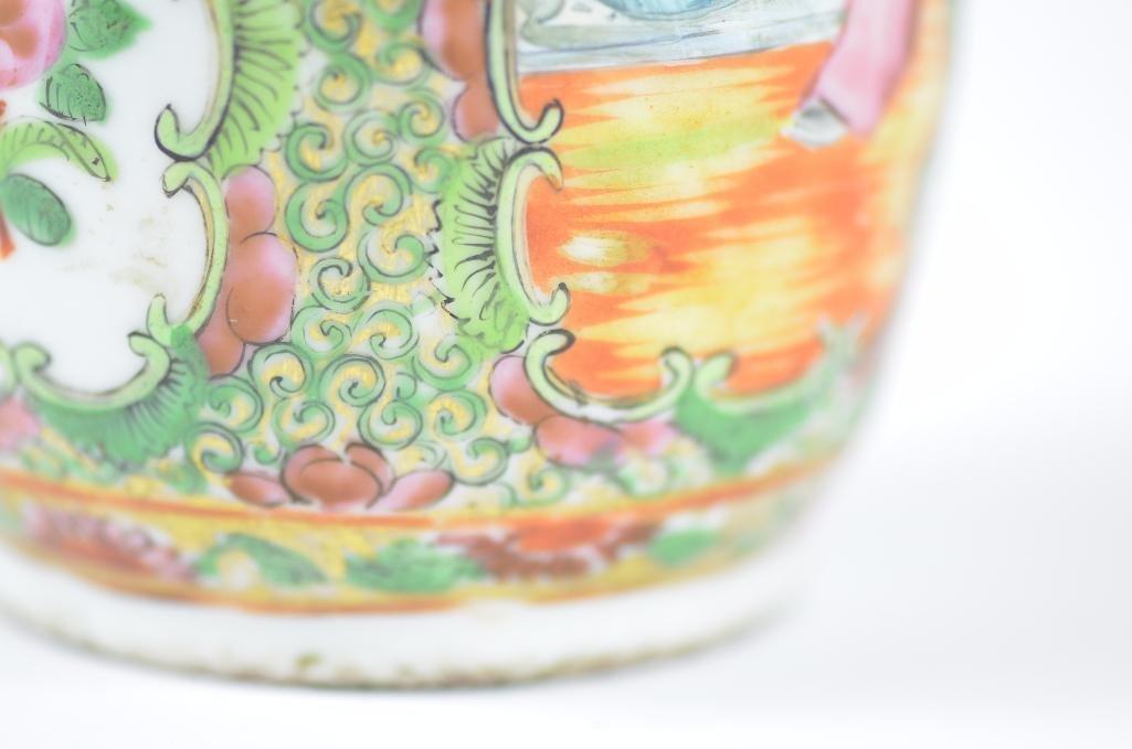 Chinese Famille Rose Porelain Vase - 9