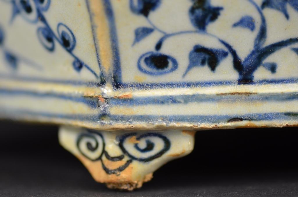 Chinese Blue & White Planter - 9