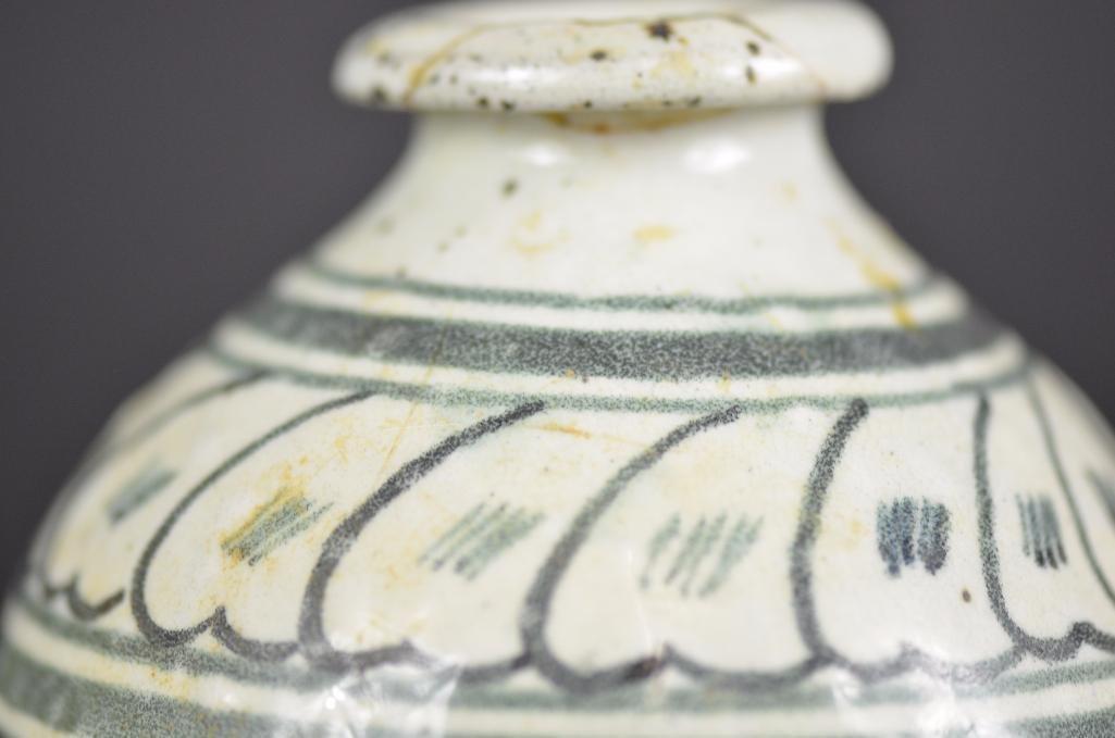 Korean underglaze Blue Vase - 7