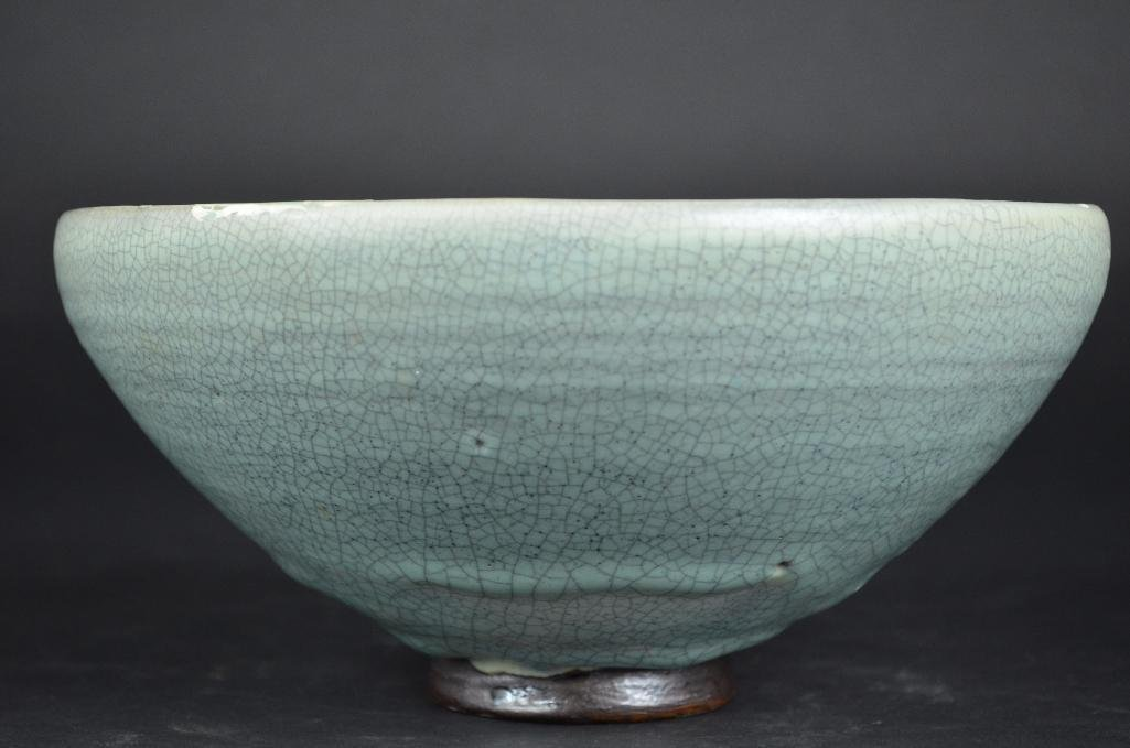 Chinese Pale Blue Footed Bowl