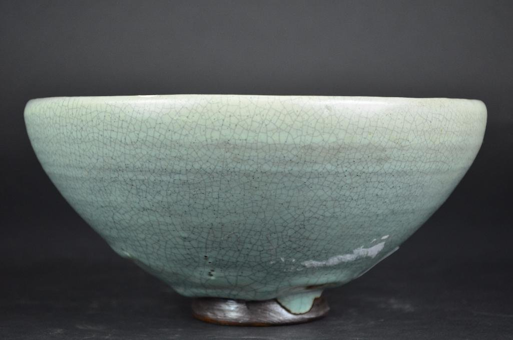 Chinese Pale Blue Footed Bowl - 2