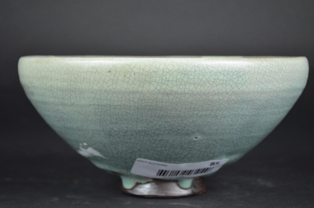 Chinese Pale Blue Footed Bowl - 3
