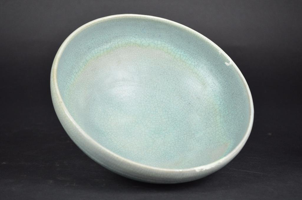 Chinese Pale Blue Footed Bowl - 5