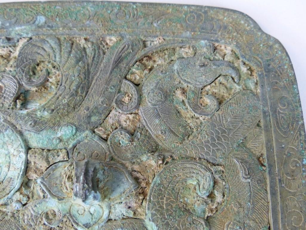 Antique Chinese Bronze mIrror - 2