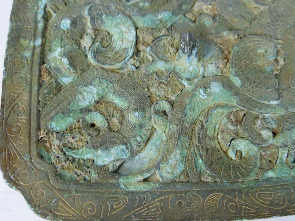 Antique Chinese Bronze mIrror - 3