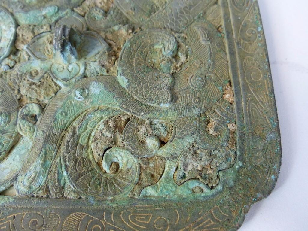 Antique Chinese Bronze mIrror - 4