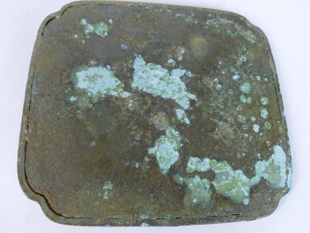 Antique Chinese Bronze mIrror - 5
