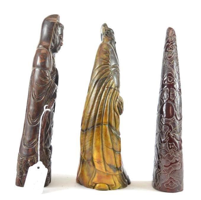 Three Chinese Figures - 2