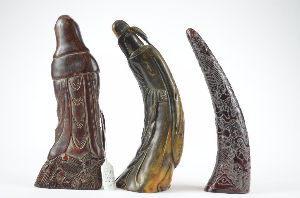 Three Chinese Figures - 3