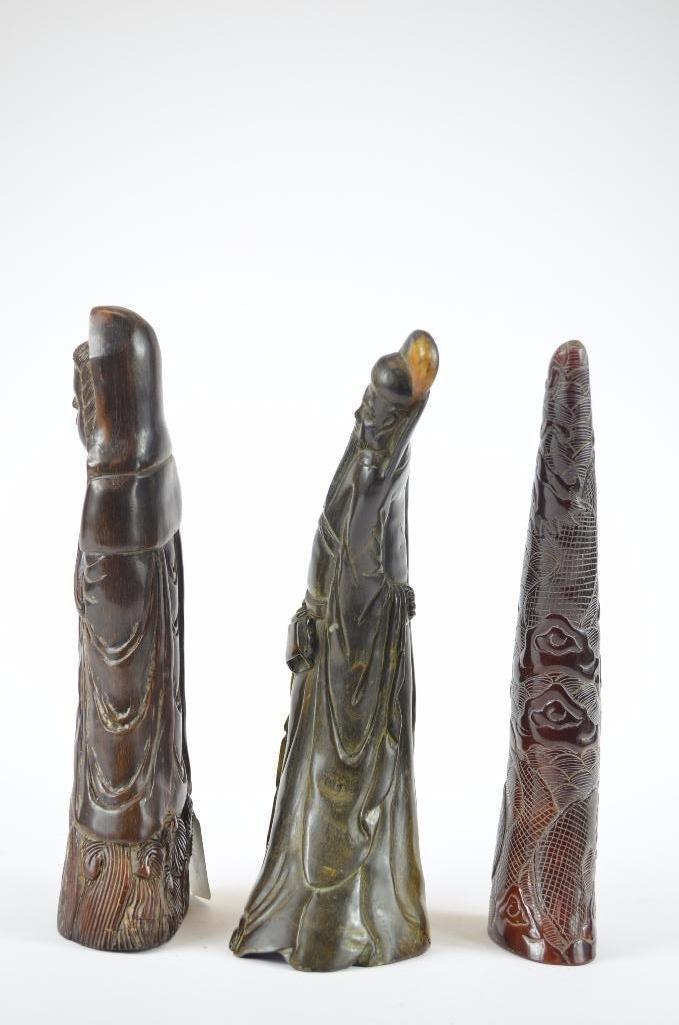 Three Chinese Figures - 4
