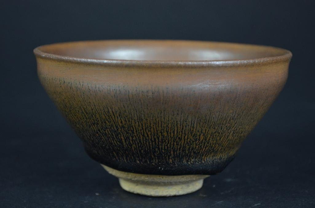 Chinese Hare Fure Glaze Bowl