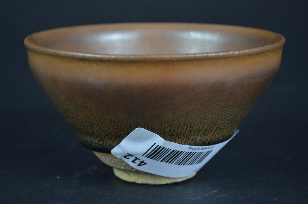 Chinese Hare Fure Glaze Bowl - 3
