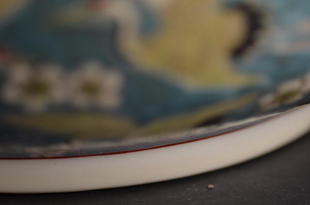 Chinese Pale Blue Ground Porcelain Bowl - 9
