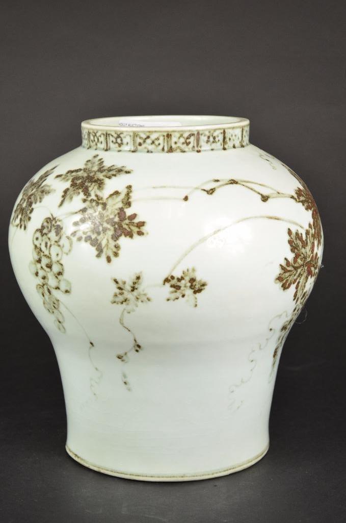 Korean Porcelain Vase - 10