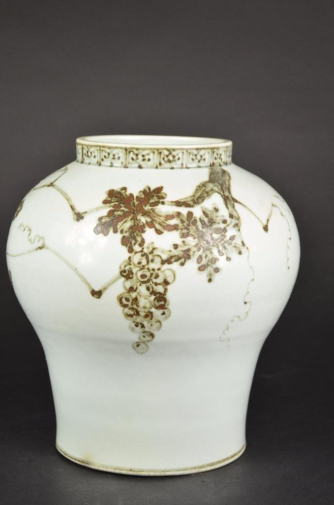 Korean Porcelain Vase - 3