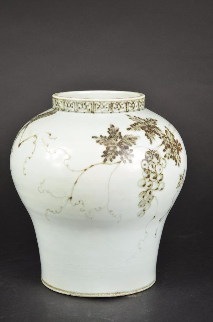 Korean Porcelain Vase - 4