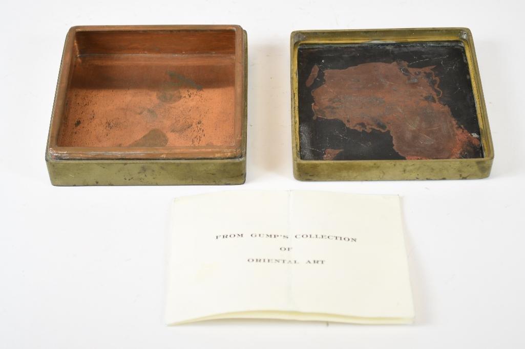Chinese Bronze Box - 2