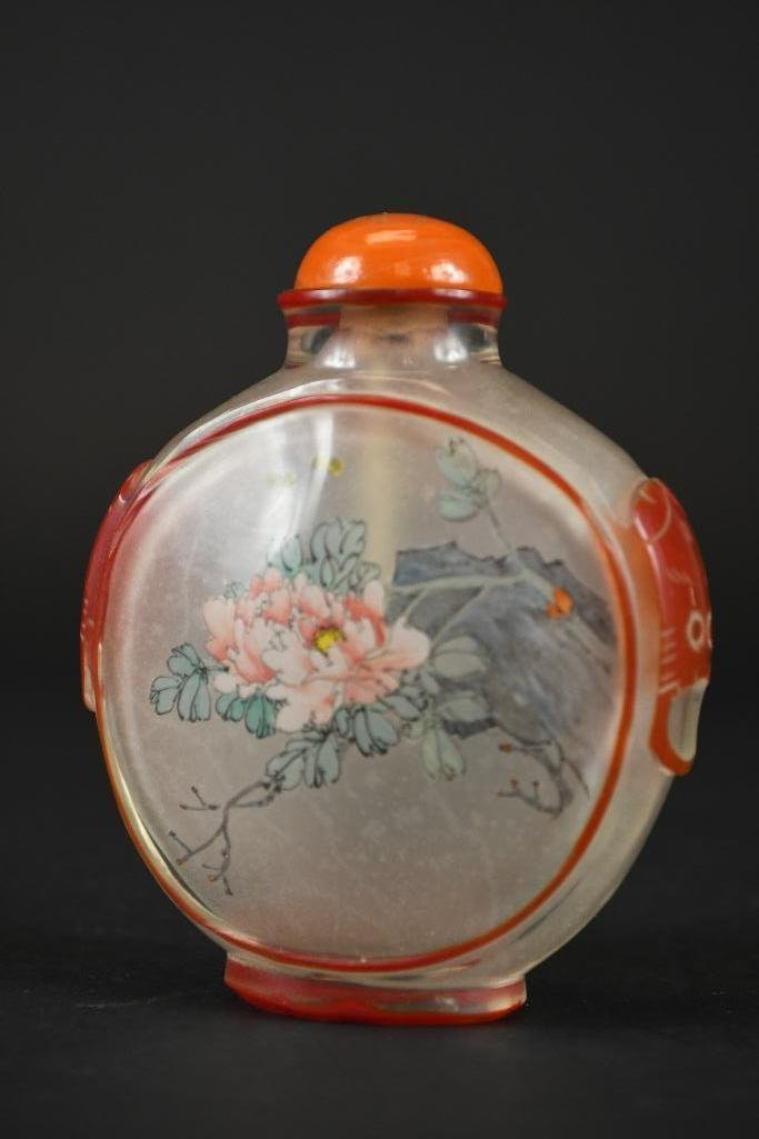 Three Chinese Snuff Bottles - 4