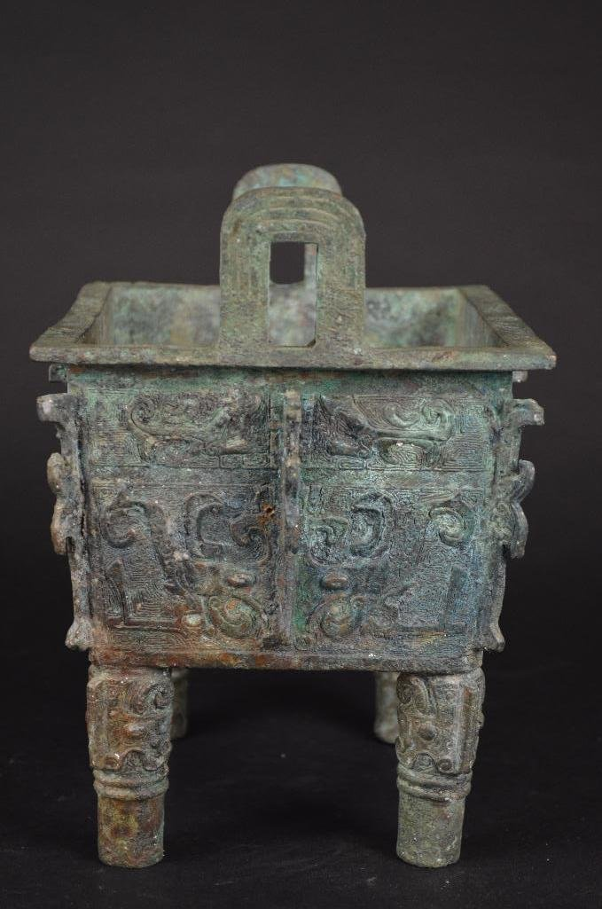 Chinese Bronze Censer - 4