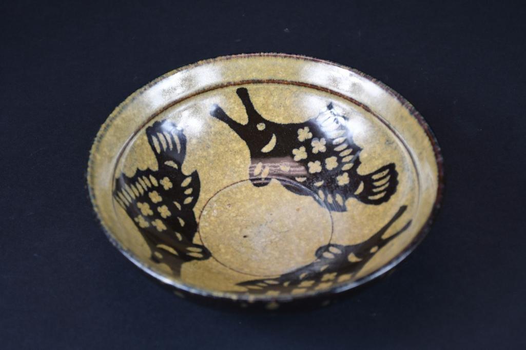 Chinese Brown Glaze Fish Bowl