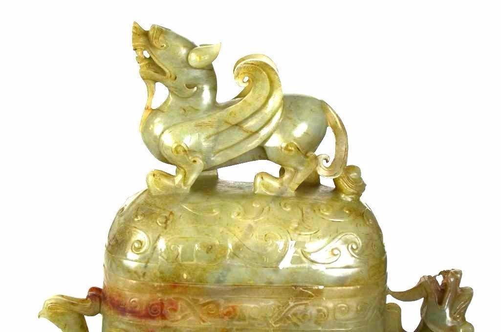 Chinese Jade Food Vessel - 2