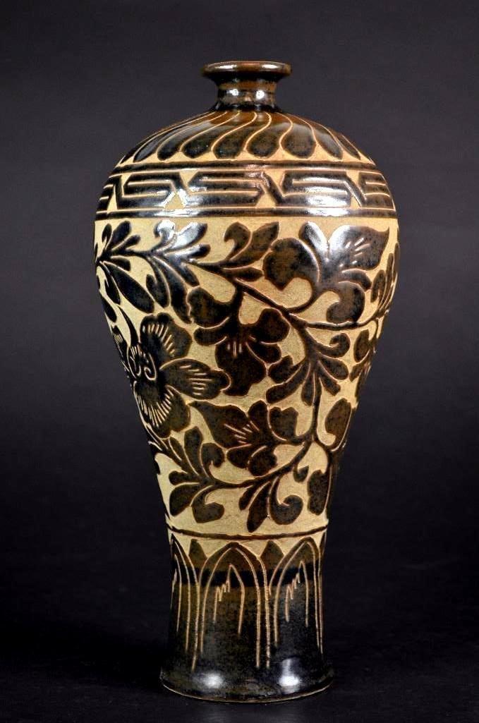Chinese Cizhou Ware Vase - 2