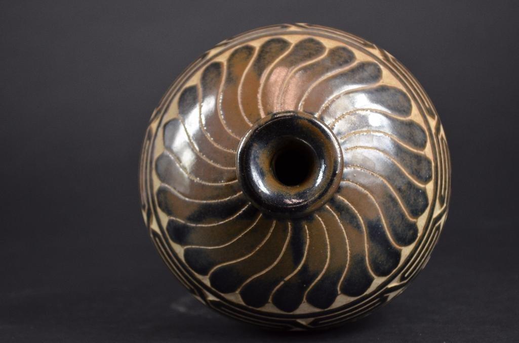 Chinese Cizhou Ware Vase - 5
