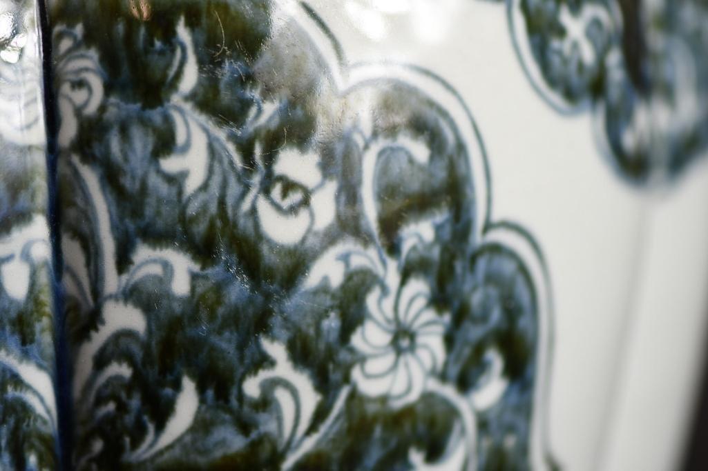 Chinese Blue & White Vase - 8
