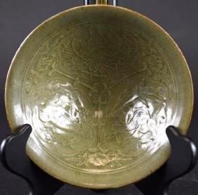 Chinese Celadon Glaze Porcelain Bowl