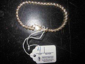 4: Diamond Tennis Bracelet, tests 14 KY Gold, 41 Diamon