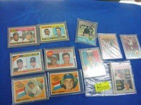 (11) Baseball Cards:  (4) World Series Cards,