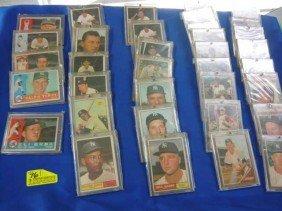 (35) Baseball Cards:  (13) 1961: (2)40, 495