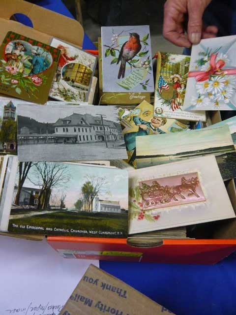82: Box of Vintage Victorian & Other Postcards