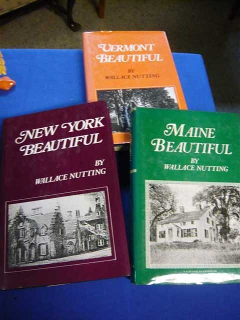 125: (3) Wallace Nutting Books; Maine Beautiful, New