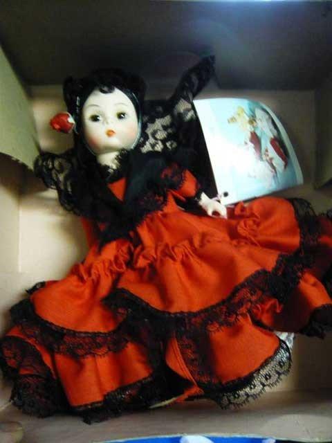 "132: Madame Alexander  Doll ""Spain"", in Original Box"