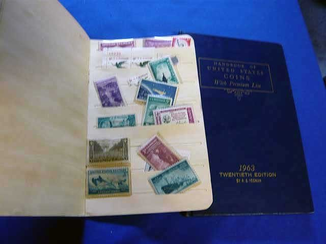 138: Handbook of United States Coins, 1963 and Stamp