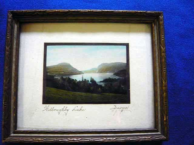 139: Sawyer Colored Photo, Willoughby Lake Image, 2