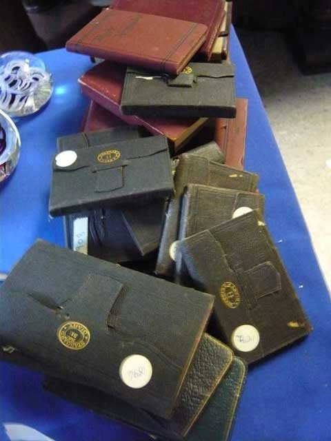 164: Lot of Diaries 1889 to early 1900's approx. (38)