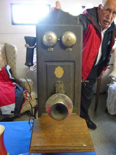 """171: Wall Telephone, """"The William's Telephone and"""