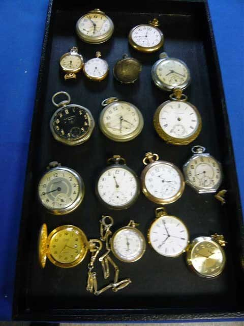 186: Lot of Pocket Watches in various conditions. (17)