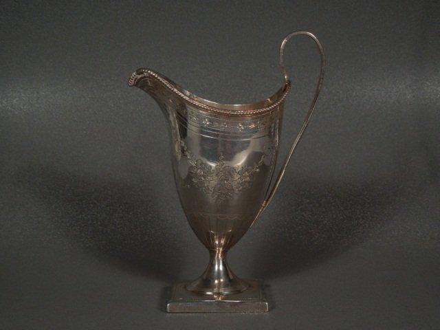5: Silver Creamer Peter & Ann Bateman, 1794