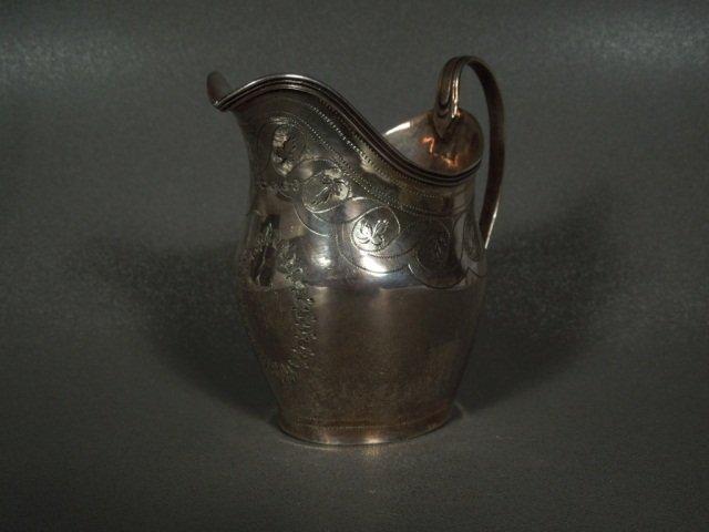 6: Silver Creamer Peter, Ann & William Bateman c.1800